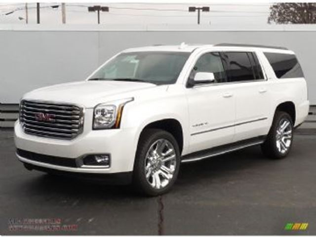 2017 GMC YUKON SLT 4WD, Premium Edition, Completely Loaded in Mississauga, Ontario