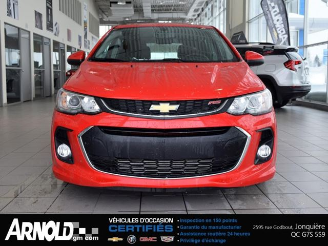 2017 Chevrolet Sonic Lt Arnold Chevrolet Buick Gmc Cadillac Inc