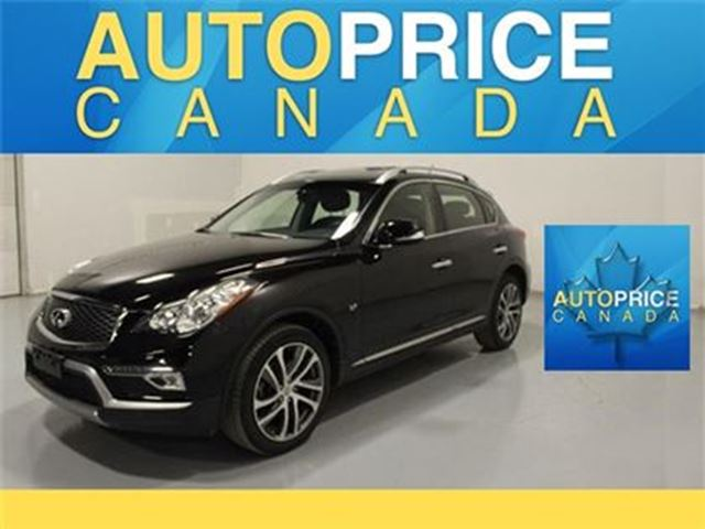 2016 INFINITI QX50 TECH PKG NAVIGATION REAR CAM in Mississauga, Ontario