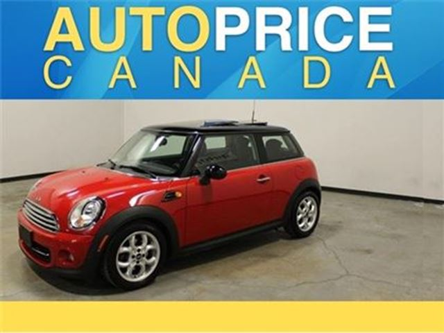 2013 MINI COOPER PANORAMIC ROOF AUTO LEATHER in Mississauga, Ontario