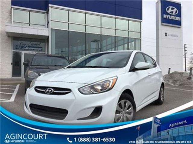 2015 HYUNDAI ACCENT GL AUTO/HEATED SEATS/BLUETOOTH/PWR GROUP in Toronto, Ontario