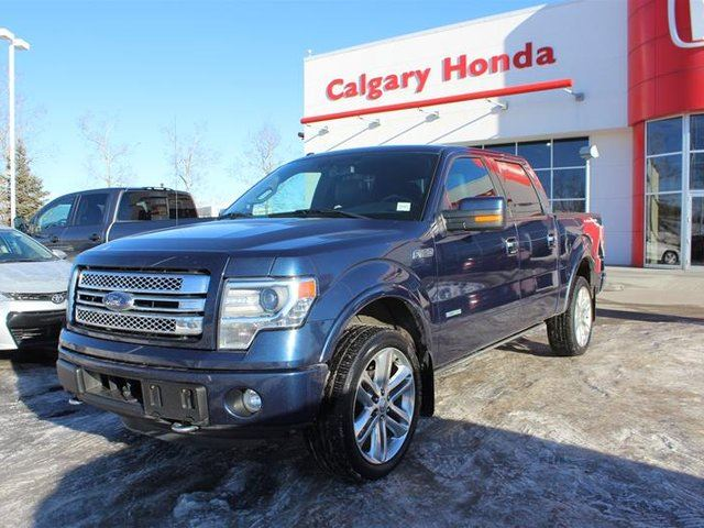2014 FORD F-150 4x4 - Supercrew Limited in Calgary, Alberta
