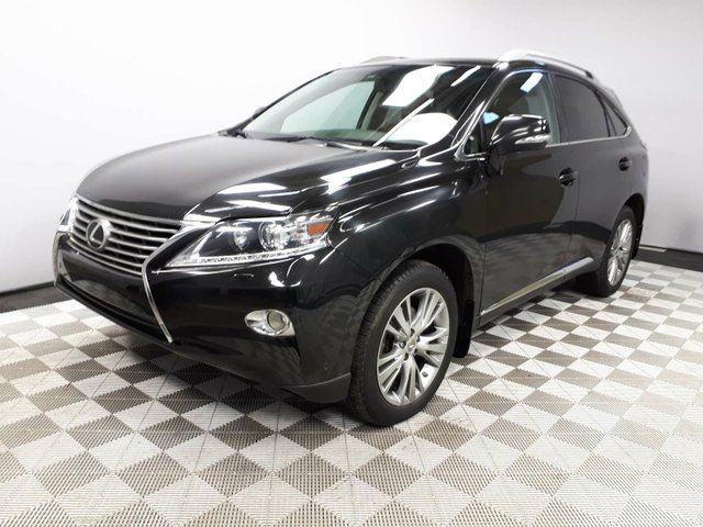 2013 LEXUS RX 350 Ultra Premium - Local One Owner Trade In | Leather Interior | Heated/Cooled Front Seats | Heads Up Display | Navigation | Back Up Camera | Parking Sensors | Power Sunroof | Power Liftgate | Blind Spot Monitor | Heated Steering Wheel | Bluetooth | Dua in Edmonton, Alberta