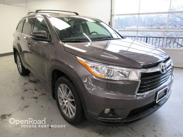 2015 TOYOTA HIGHLANDER XLE in Port Moody, British Columbia