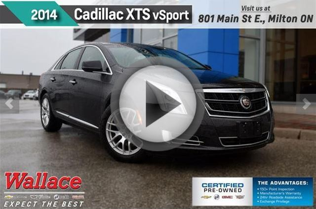 2014 CADILLAC XTS Twin Turbo Vsport Platinum/ 2 SETS OF TIRES in Milton, Ontario