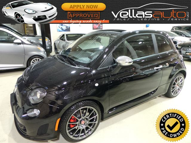2017 FIAT 500 ABARTH| COVERTIBLE| NAVIGATION in Vaughan, Ontario