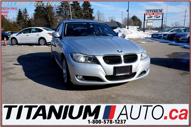 2011 BMW 3 SERIES 328i xDrive Executive Edition+GPS+Back Up Sensors+ in London, Ontario