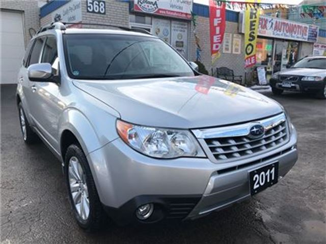 2011 SUBARU FORESTER 2.5 X Limited Package w/Power Sunroof_Leather in Oakville, Ontario