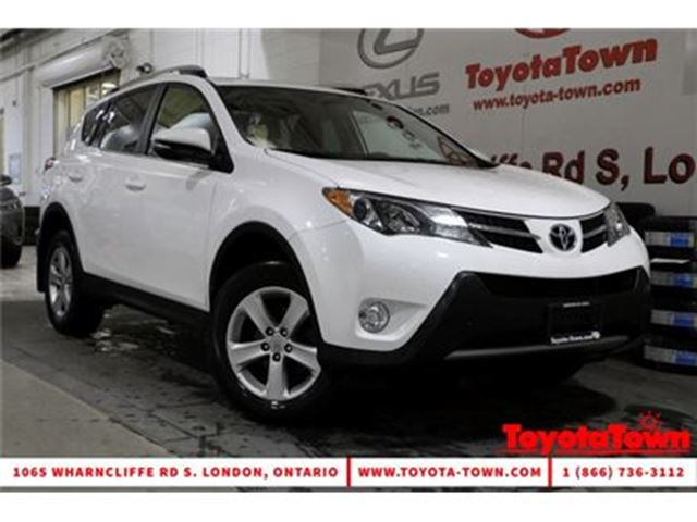 2013 Toyota RAV4 SINGLE OWNER AWD XLE MOONROOF ALLOYS BACKUP CAMERA in London, Ontario