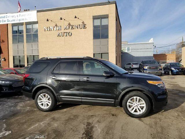 2014 FORD Explorer XLT 4dr 4x4, Leather, Back up camera in Calgary, Alberta