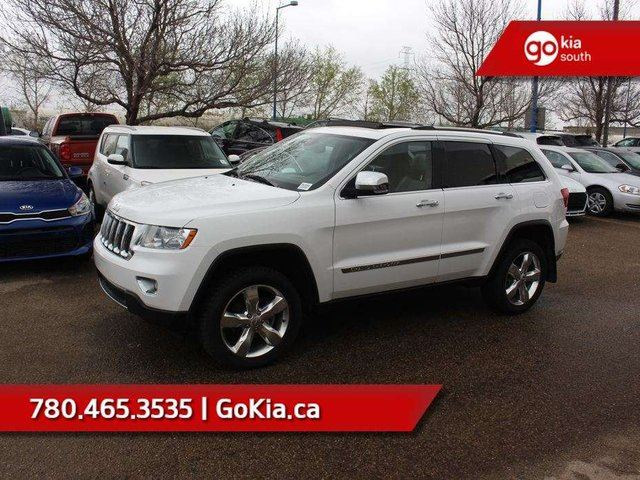 2013 JEEP Grand Cherokee Overland; FULLY LOADED, PANO ROOF, NAV, AWD, LEATHER in Edmonton, Alberta