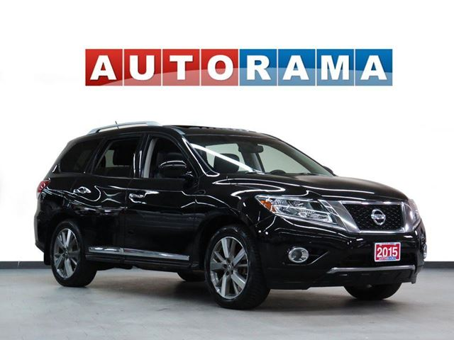 2015 NISSAN Pathfinder AWD 360 CAMERA NAVIGATION LEATHER 7 PASS in North York, Ontario