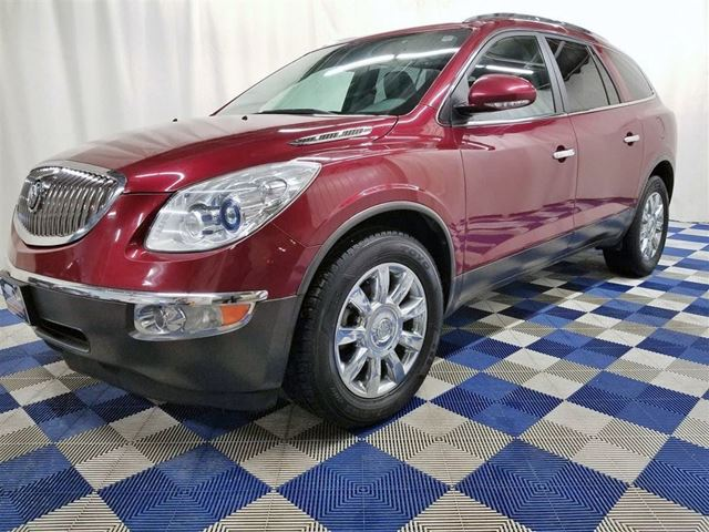 2011 BUICK ENCLAVE CXL AWD/LEATHER/SUNROOF/HTD MEMORY SEATS in Winnipeg, Manitoba