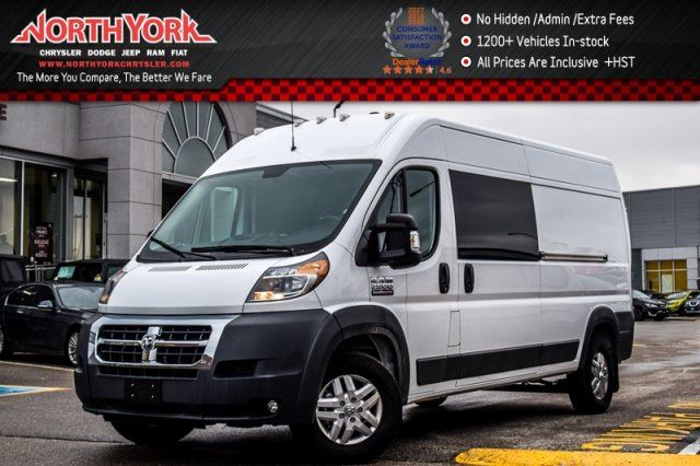 2017 RAM PROMASTER High Roof 159 Conv.,Prem.Appearance,TrailerTow Pkgs in Thornhill, Ontario