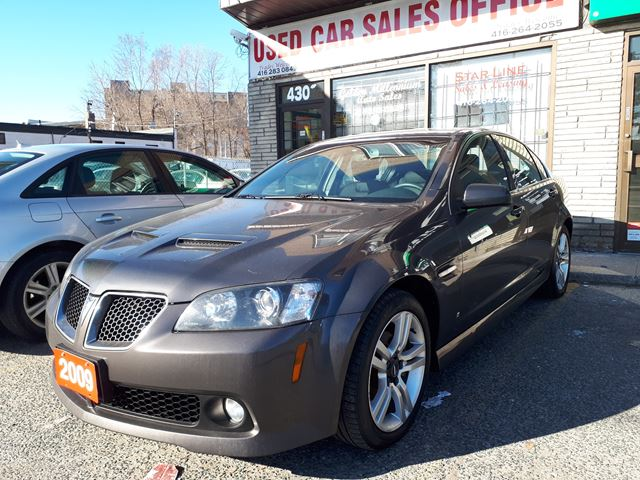 2009 PONTIAC G8 6 cylinder in Scarborough, Ontario