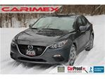 2015 Mazda MAZDA3 GX ONLY 33K   Bluetooth   CERTIFIED in Kitchener, Ontario