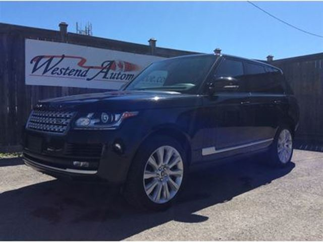2013 LAND ROVER RANGE ROVER Full size 5.0 Supercharge in Ottawa, Ontario