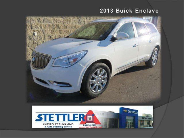 2013 Buick Enclave Leather All-wheel Drive Sport Utility in Stettler, Alberta