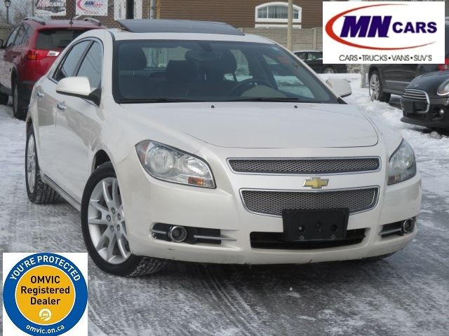 2010 CHEVROLET Malibu LTZ LEATHER, SUNROOF in Ottawa, Ontario