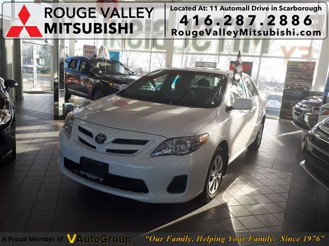 2011 TOYOTA Corolla CE 24000KMS NO ACCIDENTS CLEAN VERY LOW KMS !!! in Scarborough, Ontario