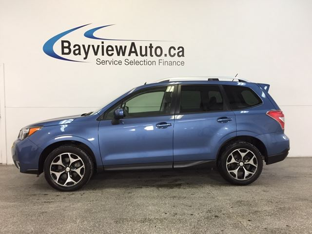 2015 SUBARU FORESTER XT- AWD|SUNROOF|HTD STS|REV CAM|BLUETOOTH|CRUISE! in Belleville, Ontario