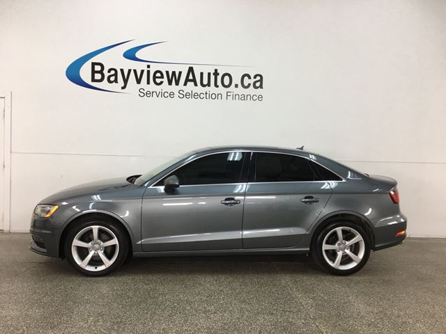 2015 AUDI A3 KOMFORT- TDI|SUNROOF|HTD LTHR|BLUETOOTH|CRUISE! in Belleville, Ontario