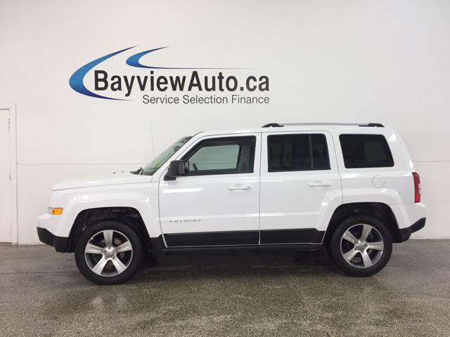 2017 JEEP PATRIOT HIGH ALTITUDE- 4x4|SUNROOF|HTD LTHR|NAV|UCONNECT! in Belleville, Ontario