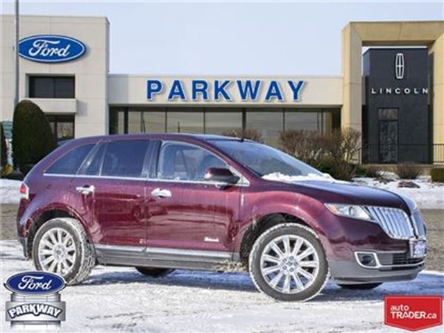 2011 LINCOLN MKX AWD   ACCIDENT FREE   TOW PACKAGE in Waterloo, Ontario