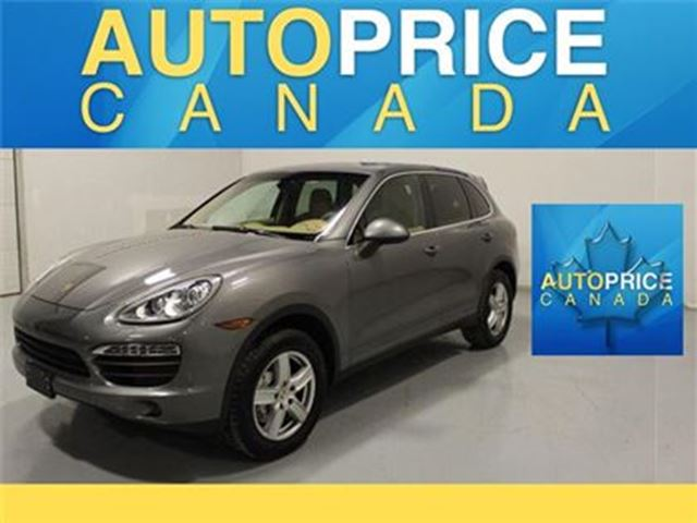 2014 PORSCHE CAYENNE S NAVIGATION PANORAMICROOF in Mississauga, Ontario