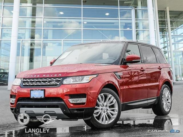 2015 LAND ROVER RANGE ROVER Sport V6 SE in Langley, British Columbia