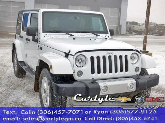 2015 Jeep Wrangler Unlimited Sahara in Carlyle, Saskatchewan