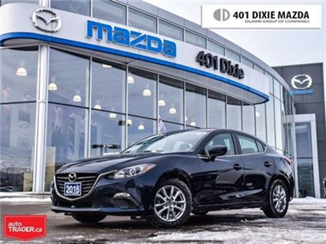 2016 MAZDA MAZDA3 GS,LOW FINANCE RATES,NO ACCIDENTS in Mississauga, Ontario