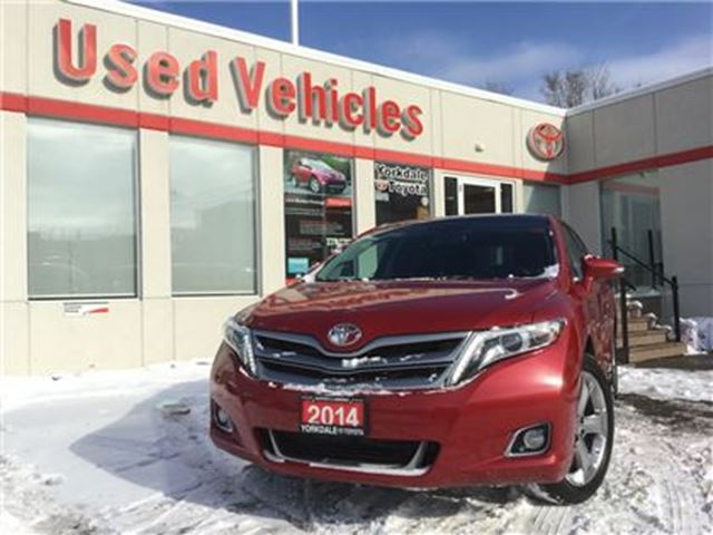 2014 TOYOTA Venza LIMITED AWD- NAV,PANOROOF, LEATHER, B.CAM, P.START in Toronto, Ontario