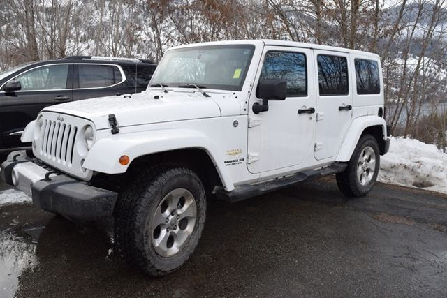 2014 Jeep Wrangler Unlimited Sahara in Trail, British Columbia