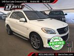 2015 Mercedes-Benz M-Class ML63 AMG in Airdrie, Alberta