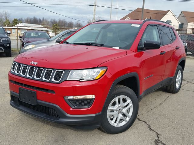 2017 Jeep Compass Sport 4x4 in Fort Erie, Ontario