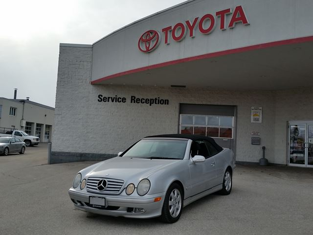 2003 MERCEDES-BENZ CLK-CLASS 3.2L - LOCAL TRADE IN in Midland, Ontario