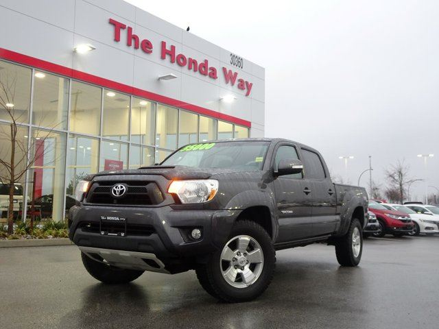 2013 TOYOTA TACOMA TRD DOUBLE CAB V6 Auto 4WD LOW KILOMETERS! in Abbotsford, British Columbia