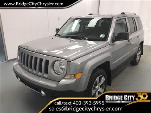 2017 JEEP PATRIOT High Altitude- Leather, Heated Seats, Remote Start in Lethbridge, Alberta