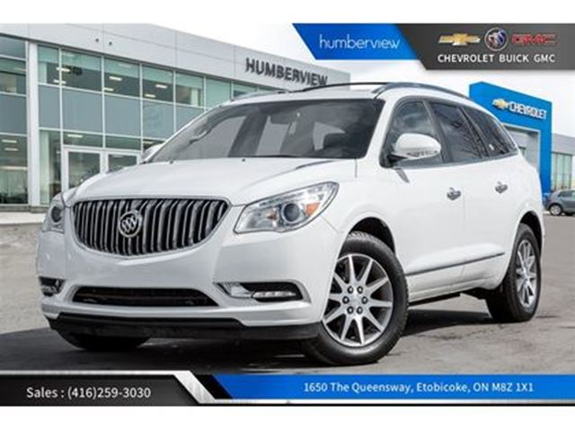 2017 BUICK ENCLAVE Leather REARCAM 7SEATER AWD in Toronto, Ontario