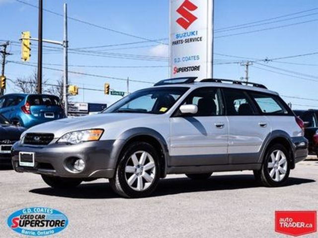 2006 SUBARU OUTBACK 2.5 Limited ~Heated Leather ~Panoramic Roof in Barrie, Ontario