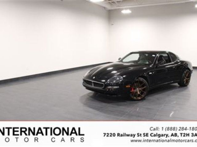 2004 MASERATI COUPE *RARE 6 SPEED* in Calgary, Alberta