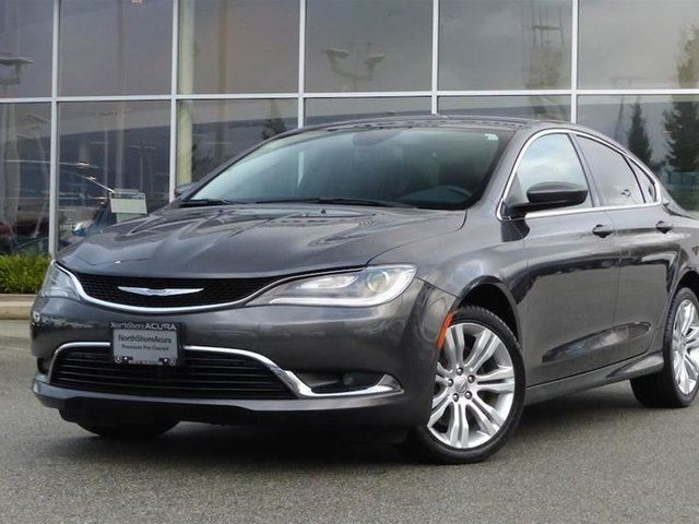 2015 CHRYSLER 200 Limited *Fully Loaded* in North Vancouver, British Columbia