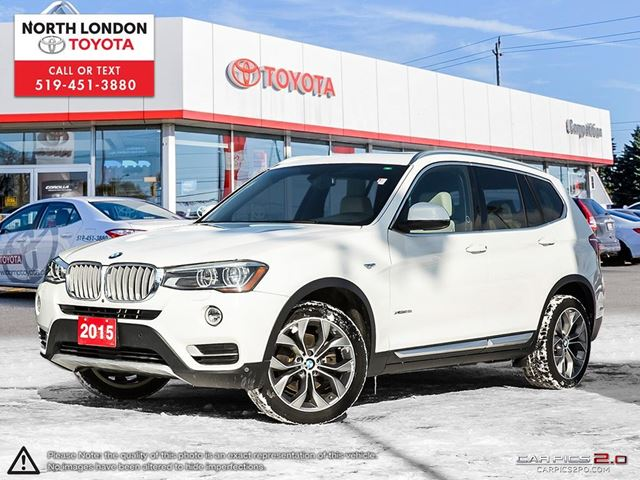 2015 BMW X3 xDrive28i One Owner, No Accidents in London, Ontario