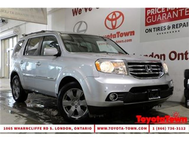 2013 HONDA PILOT LOADED TOURING LEATHER NAVIGATION DVD PLAYER in London, Ontario