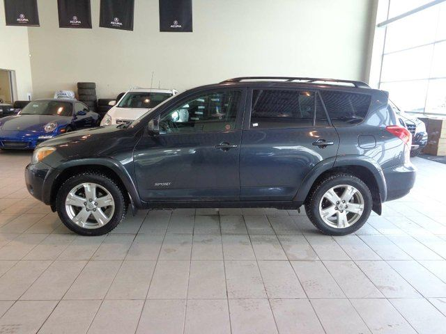 2006 TOYOTA RAV4 Sport V6 - 4WD, Remote Start, Heated Mirrors and CD Player! in Red Deer, Alberta