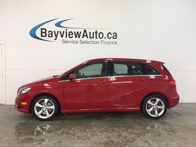 2014 MERCEDES-BENZ B-CLASS - AUTO ALLOYS HTD LEATHER ECO MODE BLUETOOTH! in Belleville, Ontario