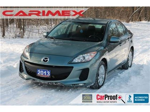 2013 MAZDA MAZDA3 GX Bluetooth   AC   CERTIFIED in Kitchener, Ontario