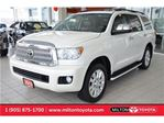 2013 Toyota Sequoia Platinum,7 Seats,Navigation,Blind Spot Monitor in Milton, Ontario
