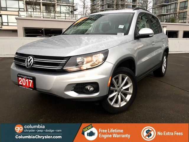2017 VOLKSWAGEN TIGUAN WOLFSBURG in Richmond, British Columbia